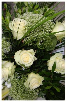 S6 - Smútočná žardiniéra živých kvetov