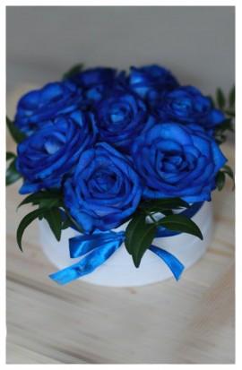 B8 - Kráľovské modré ruže
