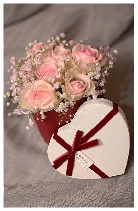 B11 - Jemné romantické ruže